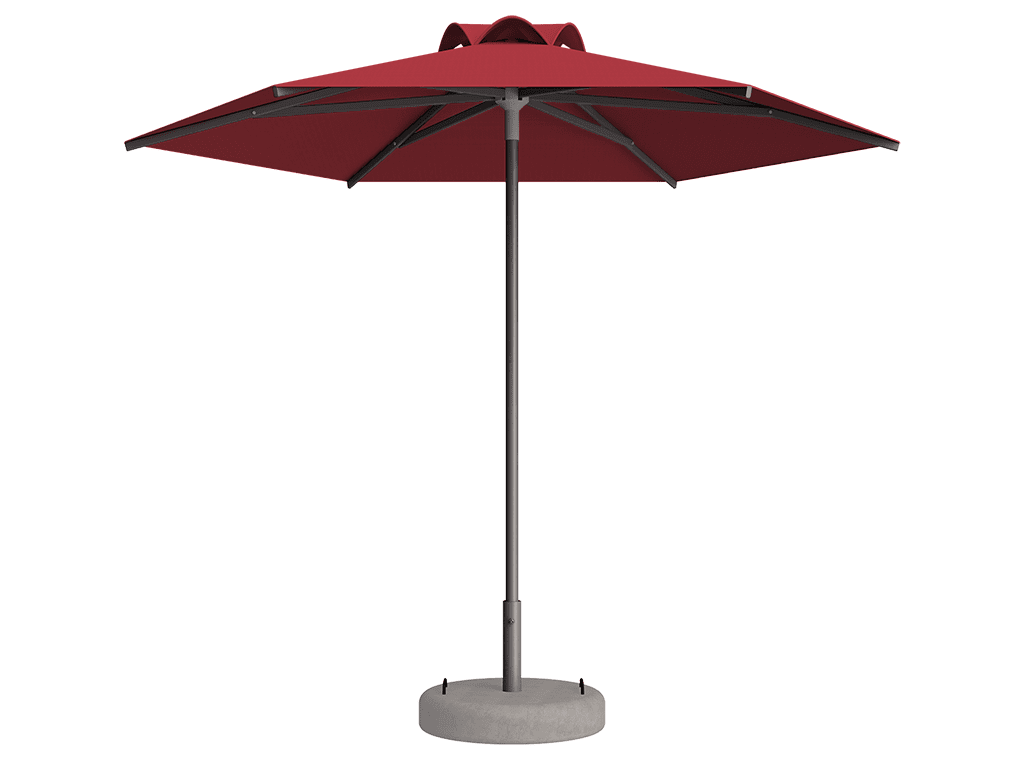 Ομπρέλα Τύπου Παραλίας Sole Ενισχυμένη Ελαφρού Τύπου Papaye
