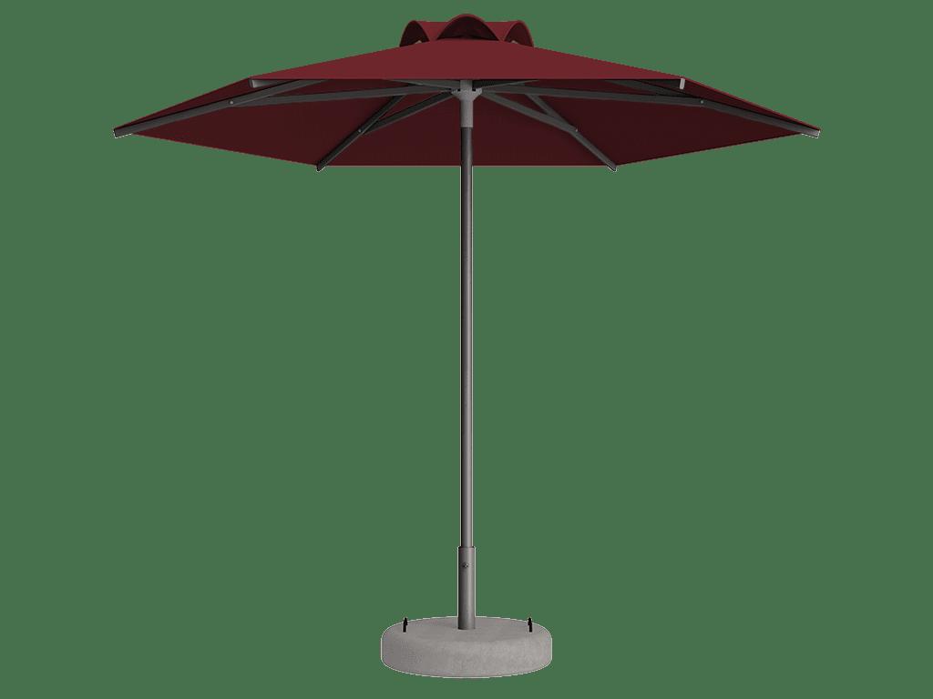 Ομπρέλα Τύπου Παραλίας Sole Ενισχυμένη Ελαφρού Τύπου Chataign