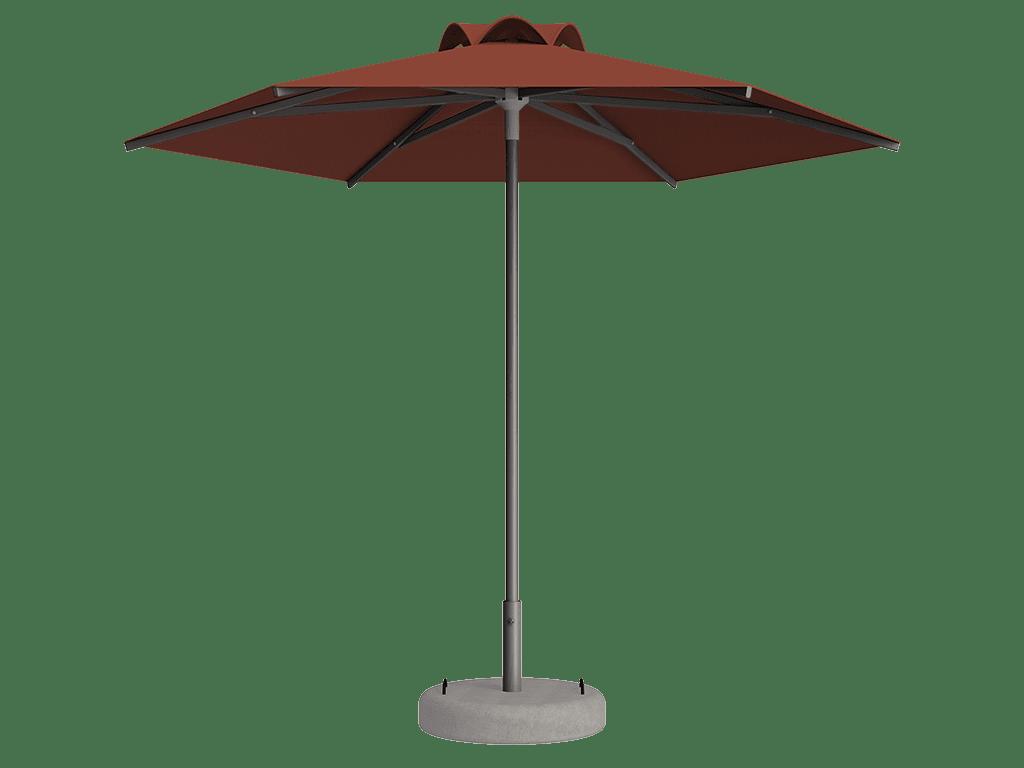 Ομπρέλα Τύπου Παραλίας Sole Ενισχυμένη Ελαφρού Τύπου Safran