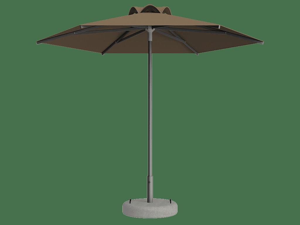 Ομπρέλα Τύπου Παραλίας Sole Ενισχυμένη Ελαφρού Τύπου Bruyere