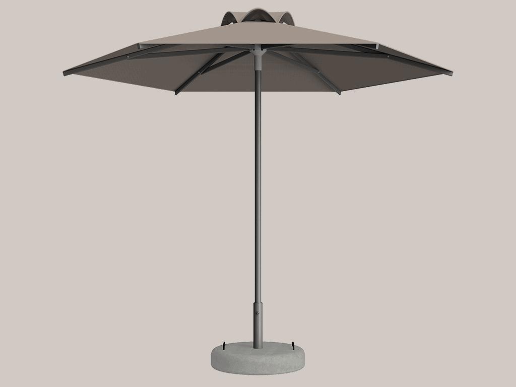 Ομπρέλα Τύπου Παραλίας Sole Ενισχυμένη Ελαφρού Τύπου Lin