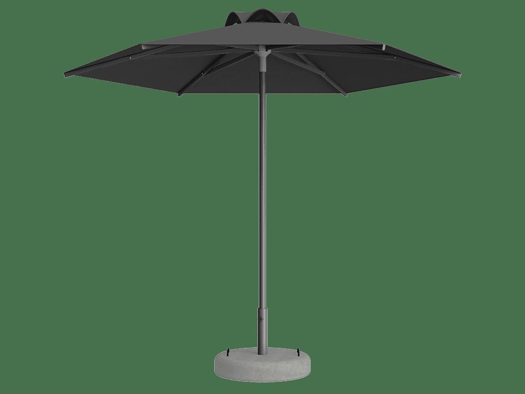 Ομπρέλα Τύπου Παραλίας Sole Ενισχυμένη Ελαφρού Τύπου Flanelle