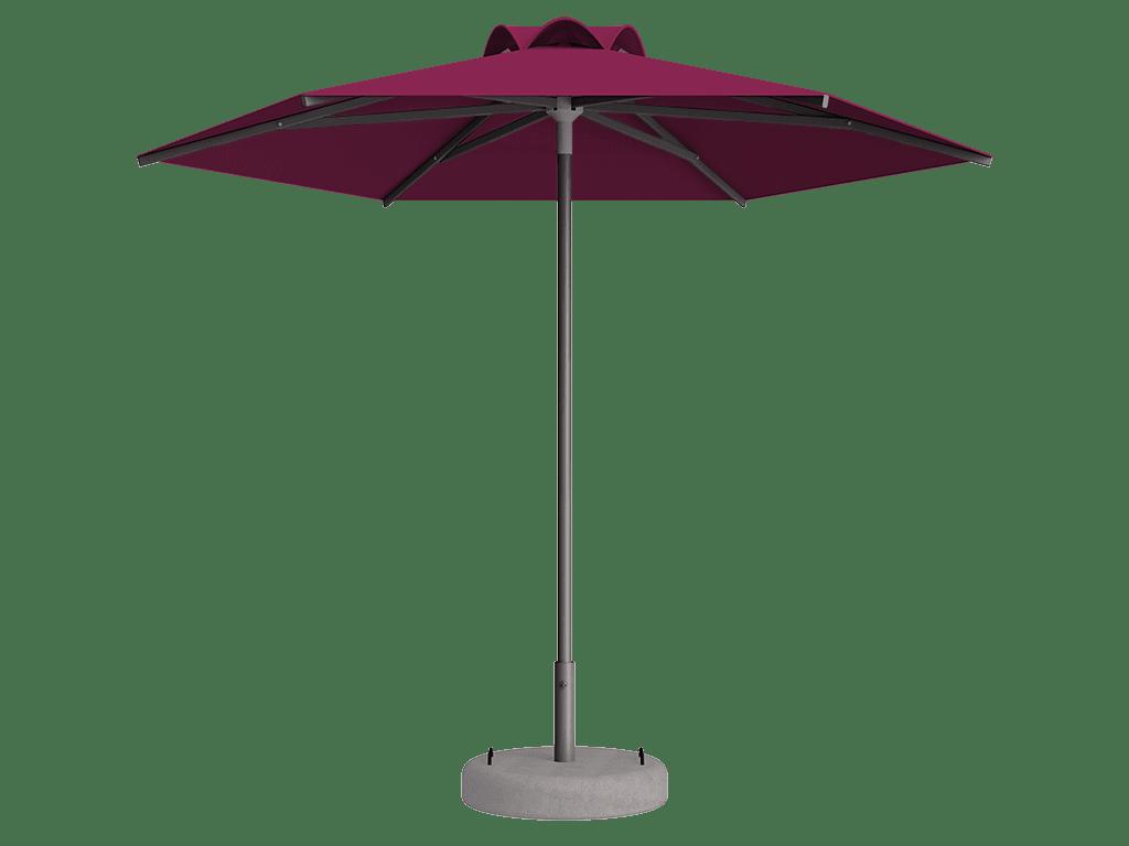 Ομπρέλα Τύπου Παραλίας Sole Ενισχυμένη Ελαφρού Τύπου Pink