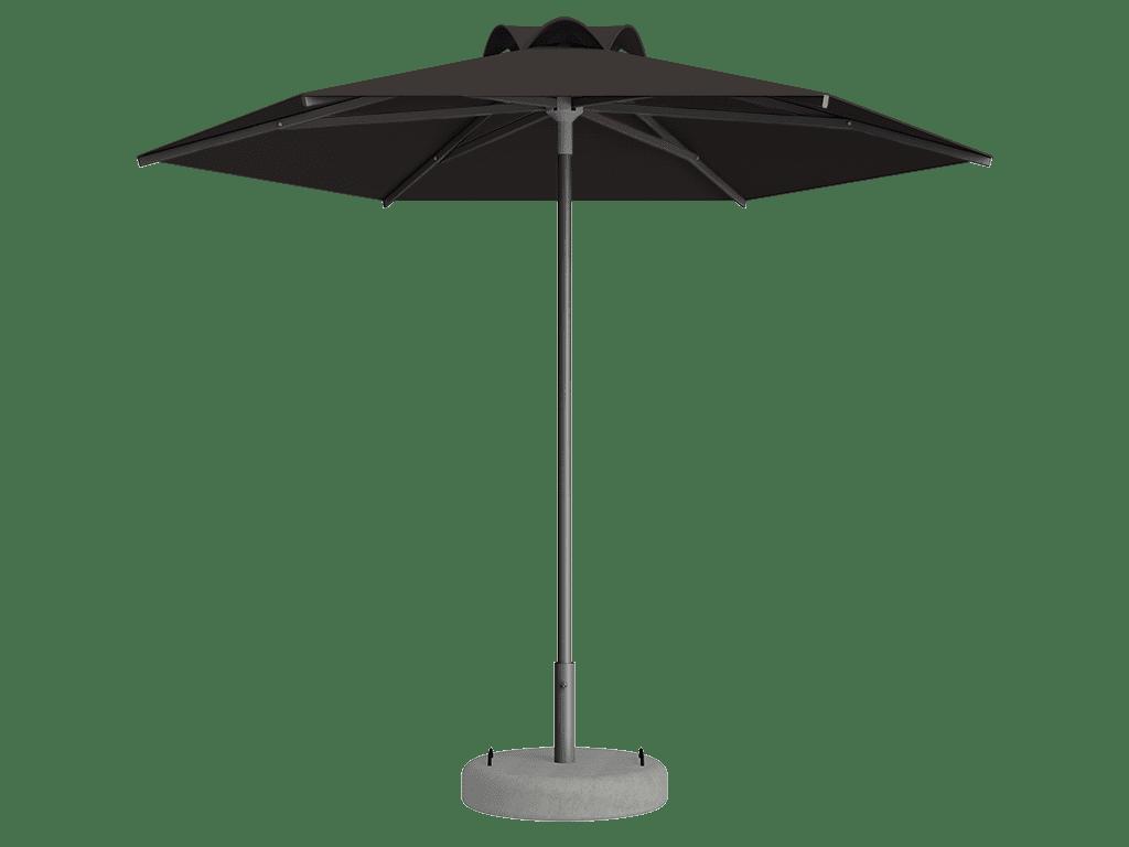 Ομπρέλα Τύπου Παραλίας Sole Ενισχυμένη Ελαφρού Τύπου Chaume Pique