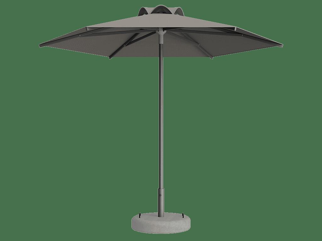 Ομπρέλα Τύπου Παραλίας Sole Ενισχυμένη Ελαφρού Τύπου Argile
