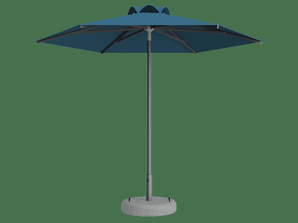 Ομπρέλα Τύπου Παραλίας Sole Ενισχυμένη Ελαφρού Τύπου Azur