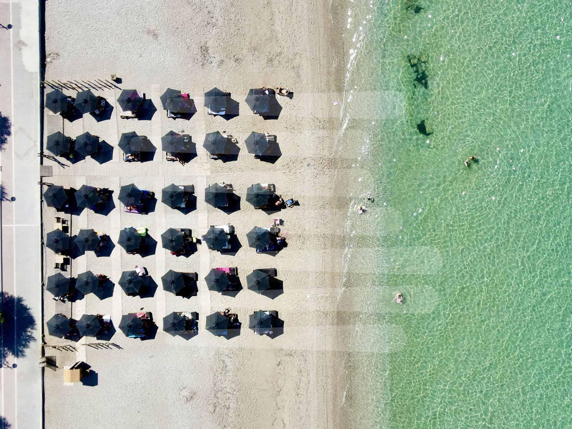 Ομπρέλα Τύπου Παραλίας Sole Ενισχυμένη Ελαφρού Τύπου - Εφαρμογές - Συστηματα Σκιασης & Προστασιας Sunblock